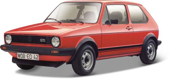 Obrázek z Bburago 1:24 Plus Volkswagen Golf MK1 GTI Red