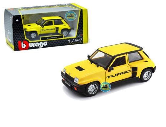 Obrázek z Bburago 1:24 Plus Renault 5 Turbo Yellow