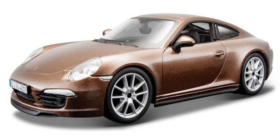 Obrázek z Bburago 1:24 Plus Porsche 911 Carrera S Metallic Brown