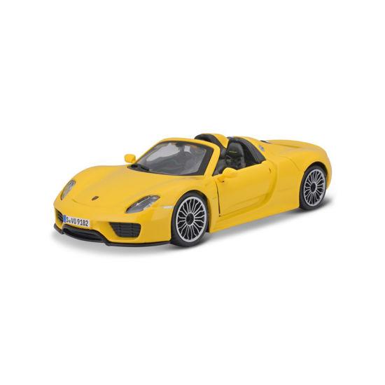Obrázek z Bburago 1:24 Plus Porsche 918 Spyder Yellow