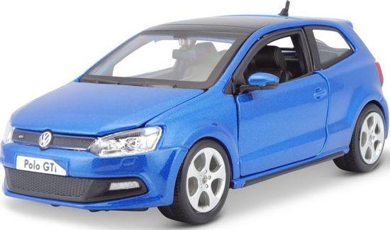 Obrázek z Bburago 1:24 Plus VW Polo GTI Mark 5 Blue