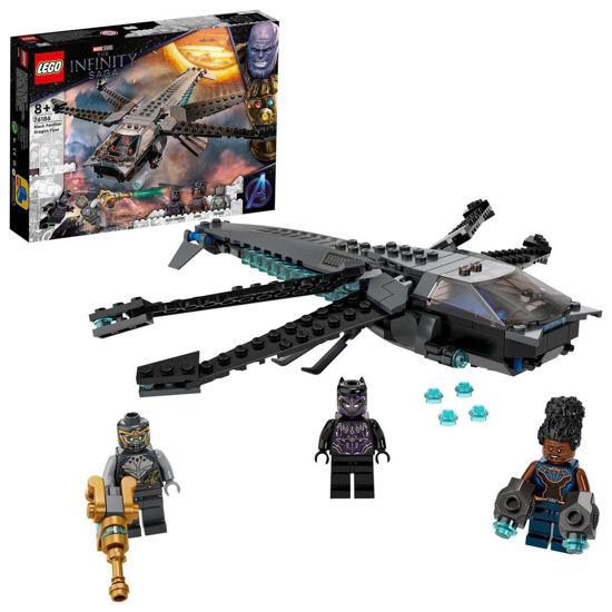 Obrázek z LEGO 76186 Black Panther adračí letoun