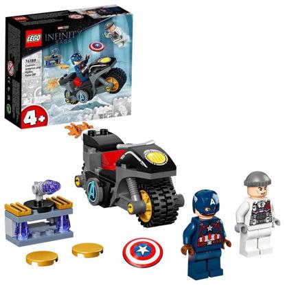 Obrázek LEGO 76189 Captain America vs. Hydra