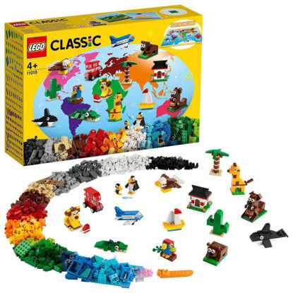 Obrázek LEGO Classic 11015 Cesta kolem světa