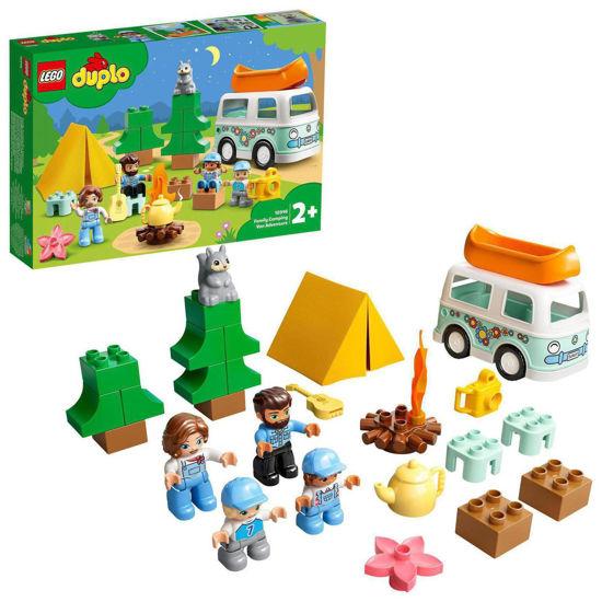 Obrázek z LEGO Duplo 10946 Dobrodružství vrodinném karavanu
