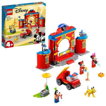 Obrázek LEGO Duplo 10776 Hasičská stanice aauto Mickeyho apřátel