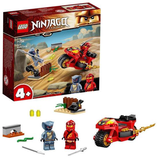 Obrázek z LEGO Ninjago 71734 Kaiova motorka sčepelemi