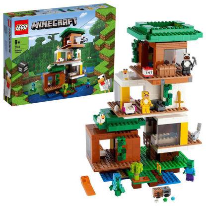 Obrázek LEGO Minecraft 21174 Moderní dům na stromě