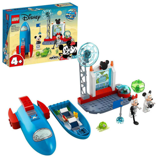 Obrázek z LEGO Duplo 10774 Myšák Mickey a Myška Minnie jako kosmonauti