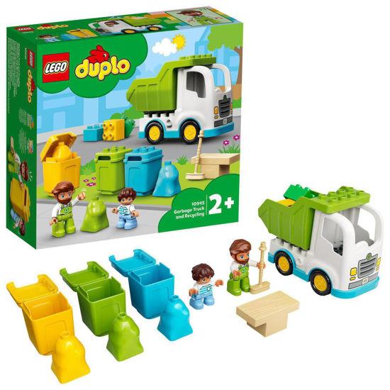 Obrázek z LEGO Duplo 10945 Popelářský vůz a recyklování