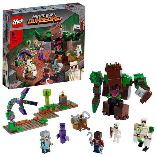 Obrázek z LEGO Minecraft 21176 Příšera z džungle