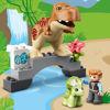 Obrázek z LEGO Duplo 10939 T-rex atriceratops na útěku