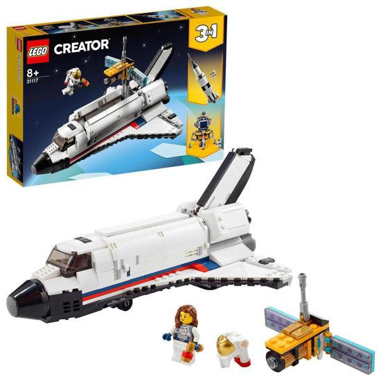 Obrázek z LEGO Creator 31117 Vesmírné dobrodružství s raketoplánem