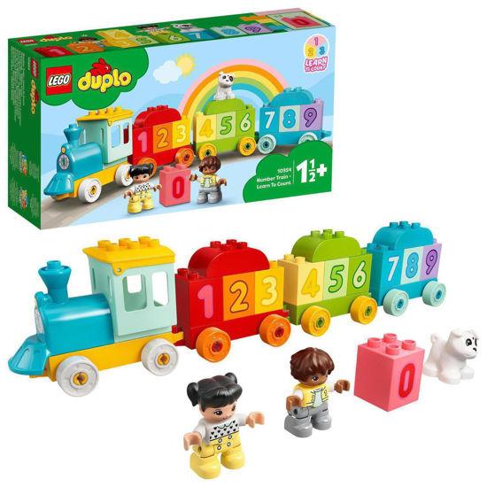 Obrázek z LEGO Duplo 10954 Vláček s čísly – Učíme se počítat