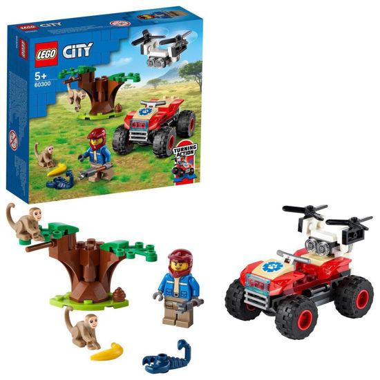 Obrázek z LEGO City 60300 Záchranářská čtyřkolka do divočiny