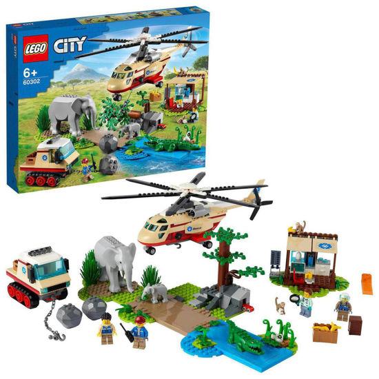 Obrázek z LEGO City 60302 Záchranná operace v divočině