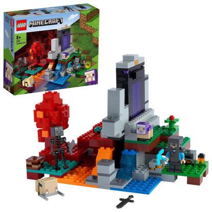 Obrázek LEGO Minecraft 21172 Zničený portál