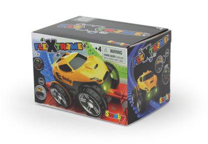 Obrázek FleXtreme žluté závodní auto