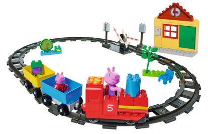 Obrázek PlayBig BLOXX Peppa Pig Vláčkodráha