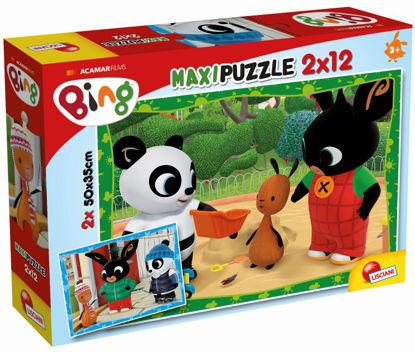 Obrázek BING a jeho přátelé, puzzle 2x12