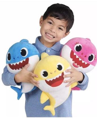 Obrázek Baby Shark plyšový, hraje a zpívá