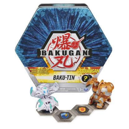 Obrázek BAKUGAN plechový box s EXKLUZIVNÍM BAKUGANEM S3