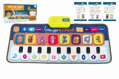 Obrázek Elektronická hrací podložka Zvířátka a jejich kapela