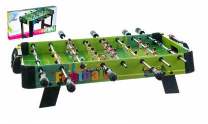 Obrázek Kopaná/Fotbal společenská hra 71x36cm dřevo kovová táhla s počítadlem