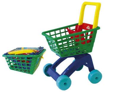 Obrázek Nákupní vozík dětský plastový
