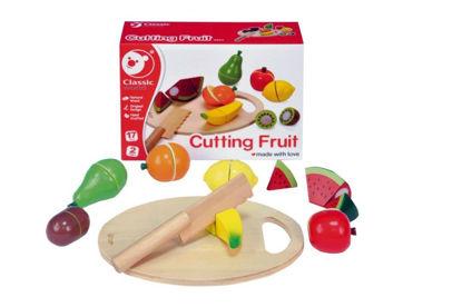 Obrázek Ovoce krájecí s prkénkem dřevěné