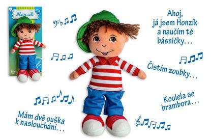 Obrázek Panáček kluk Honzík hadrový plyš  česky mluvící
