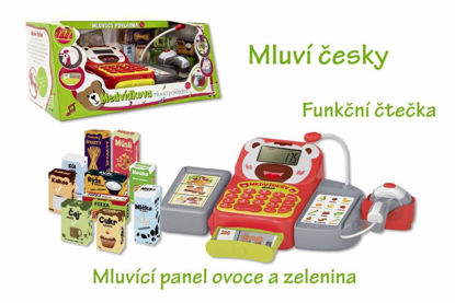 Obrázek Pokladna česky mluvící s doplňky se zvukem a světlem