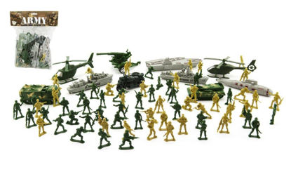 Obrázek Sada vojáci s doplňky plast CZ design