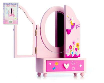 Obrázek Zrcadlo šperkovnice Princess