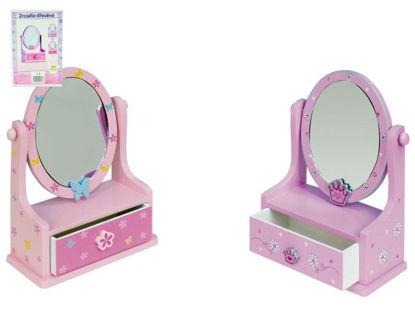 Obrázek Zrcadlo šperkovnice zásuvkou